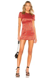House Of Harlow X Revolve Delphine Dress Red