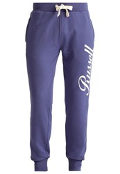 Russell Athletic Tracksuit Bottoms Estate Blue