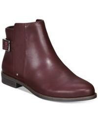 Alfani Acke Ankle Booties Women's Shoes Burgundy