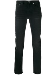 Paul Smith Ps By Skinny Jeans Cotton Polyurethane Black