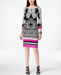Inc International Concepts Printed Shift Dress Only At Macy's