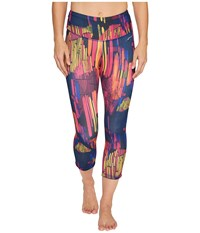 Brooks Greenlight Capri Pants Sunset Kasbah Women's Capri Multi