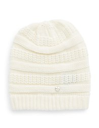 Modena Knit Beanie Off White