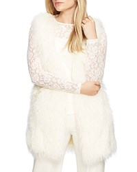 Lauren Ralph Lauren Plus Faux Fur Vest