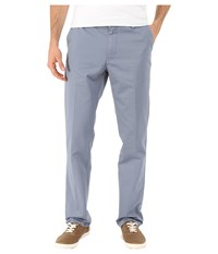 Quiksilver Everyday Chino Flint Stone Men's Clothing Blue