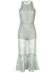 Alice Mccall Boogie Nights Jumpsuit Silver