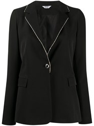 Liu Jo Single Breasted Embellished Blazer 60
