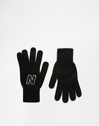 New Balance Gloves Black