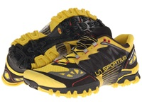 La Sportiva Bushido Yellow Black Men's Running Shoes