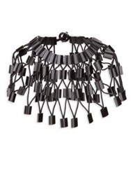 Josie Natori Cage Necklace
