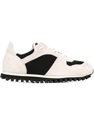 Comme Des Garcons Comme Des Garcons Colour Block Sneakers Nude And Neutrals