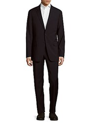 Todd Snyder Mayfair Modern Fit Solid Wool Blend Suit Navy