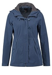 Evenandodd Summer Jacket Dark Blue