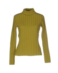 Blue Les Copains Knitwear Turtlenecks Women