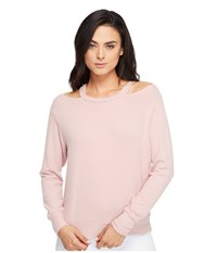 Lna Bolero Sweater Crystal Rose Women's Sweater Pink