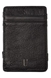 Cathy's Concepts 'Magic' Personalized Leather Wallet Grey