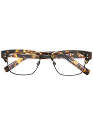 Dita Eyewear 'Statesman' Glasses Brown