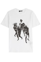 The Kooples Statement T Shirt White