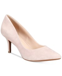 Alfani Women's Step 'N Flex Jeules Pumps Only At Macy's Women's Shoes Dusty Rose Suede