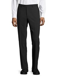 Santorelli Solid Straight Fit Pants Charcoal
