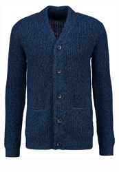 New Look Cardigan Teal Dark Red
