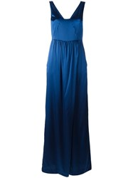 Twin Set Harem Jumpsuit Blue