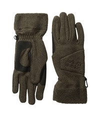 Jack Wolfskin Caribou Glove Mocca Extreme Cold Weather Gloves Brown