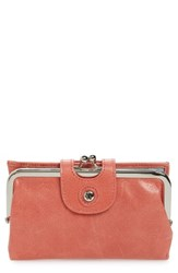 Hobo Women's 'Alice' Leather Wallet Pink Coral