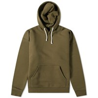 Beams Plus Popover Hoody Green