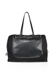 Il Bisonte Textured Leather Satchel Black