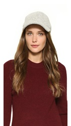Rag And Bone Marilyn Baseball Cap White Multi