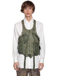 1017 Alyx 9Sm Techno Tactical Vest Green Camo