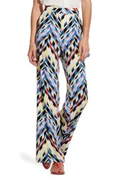 Women's Vince Camuto Chevron Print Wide Leg Pants
