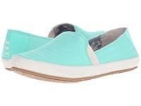 Reef Shaded Summer Turquoise Women's Flat Shoes Blue