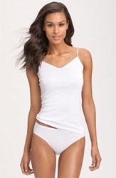 Women's Hanro Seamless V Neck Camisole White