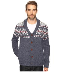 Lucky Brand Lambswool Lodge Cardigan Multi Men's Sweater
