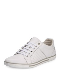 Kenneth Cole Down Time Leather Low Top Sneaker White