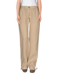 Napapijri Trousers Casual Trousers Women Beige