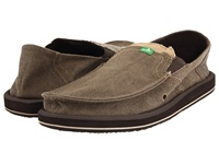 Sanuk Pick Pocket Brown Men's Slip On Shoes