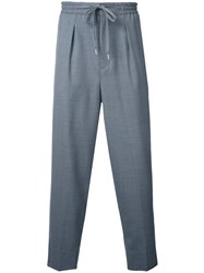 Monkey Time Elastic Waistband Trousers Grey