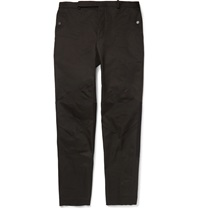 Balenciaga Panelled Cotton Twill Trousers Black