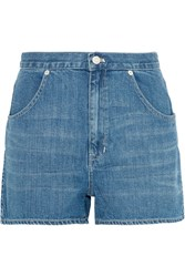 Madewell Westside Denim Shorts Mid Denim