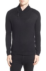 Eleven Paris Men's Elevenparis 'Mino' Shawl Collar Sweater
