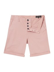 Label Lab Men's Dalion Chino Shorts Pink