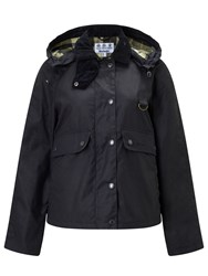 Barbour Heritage Summer Spey Waxed Jacket Navy