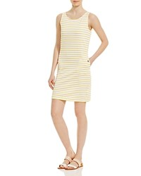 Barbour Dalmore Knit Shift Dress Yellow