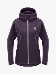 Haglofs Swook 'S Hooded Fleece Jacket Acai Berry