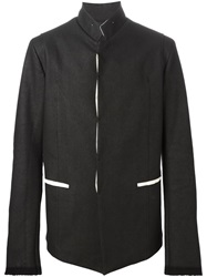 Lost And Found High Collar Jacket Black