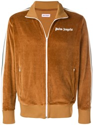 Palm Angels Classic Track Jacket Brown