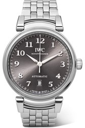 Iwc Schaffhausen Da Vinci Automatic 40 Stainless Steel Watch Silver